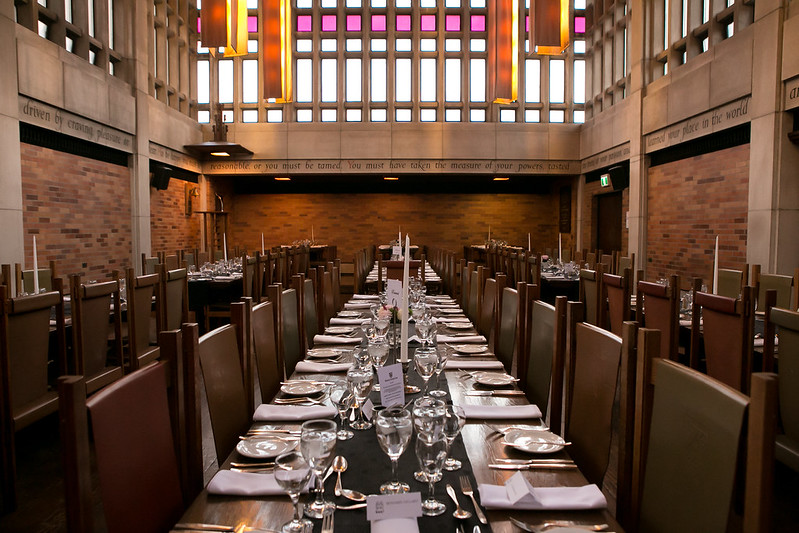 Massey College Dining Room