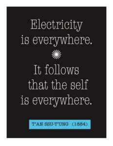 Electricity Is everywhere quote