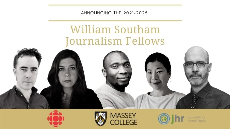 Image of 2021-2022 William Southam Journalism Fellows